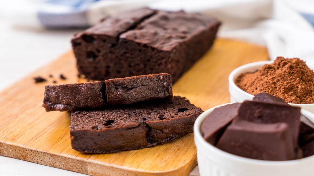 Imagem de bolo de chocolate