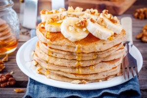 Imagem de panqueca de banana